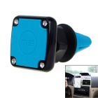 360 Degree Rotating Magnetic Car Air Vent Cell Phone Holder - Blue