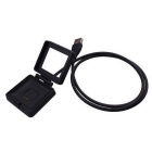 Replacement USB Charging Cable for Fitbit Blaze - Black (90cm)