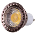 YWXLIGHT Dimmable GU10 6W chaud Ampoule LED Blanc - Rouge Brown (AC110 ~ 130V)