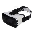 VR PARK V3 Virtual Reality Polarized 3D Video Glasses - White + Black