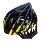 MOON BH-26A Outdoor Cycling Bike Safety Helmet - Black + Yellow (L)