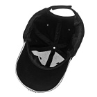5*LED Steady on White Light Flashing Sports Cap - Black