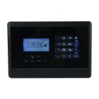 Touch-Tastatur Wireless-GSM SMS Smart Home Sicherheits-Warnungssystem - Schwarz