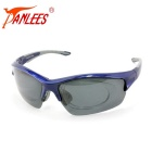 Panlees UV400 Protection Polarized Cycling Sunglasses - Sapphire Blue