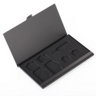 Protective Aluminum Dustproof Impact Lightweight SIM Card Storage Box Case