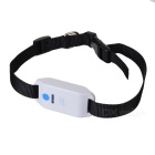 Waterproof Personal / Children / Pet GPS Tracker with Collar - White