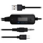 2.0 87.5 ~ 108.0MHz Car Cellulare Audio FM Transmitter MP3 Player USB