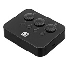 Bluetooth V4.0 Stereo Music Receiver Sharer Connect 3 Phones - Black