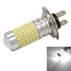 H7 9W 1000lm 144-SMD 3014 Cool White Car Lamp (12~24V)