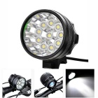 Marsing B10 10-XM-L 3-Mode 6000lm Cool White Light Bike Light