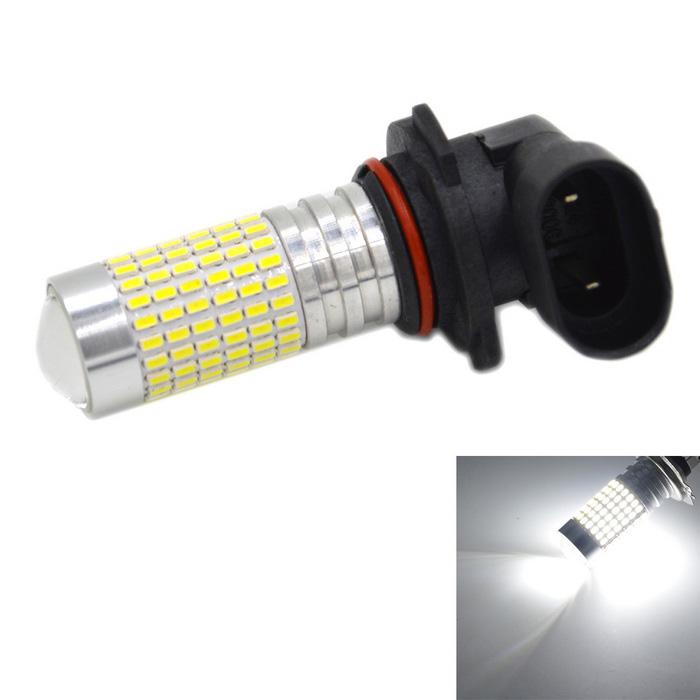9006 9W 1000lm 144-SMD 3014 Cold White Car Lamp (12~24V)