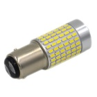 1157 / BA15S 9W 1000lm 144-SMD 3014 LED 6000K luz branca fria do carro