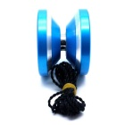 Aviation Aluminum Alloy Yo-Yo - Blue + Silver