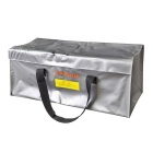 RC LiPo Battery Safety Bag Safe Guard Charge Sack - Silver