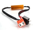 Qook H7 50W LED Turn Singal Light Resistor - Red + Yellow (2 PCS)