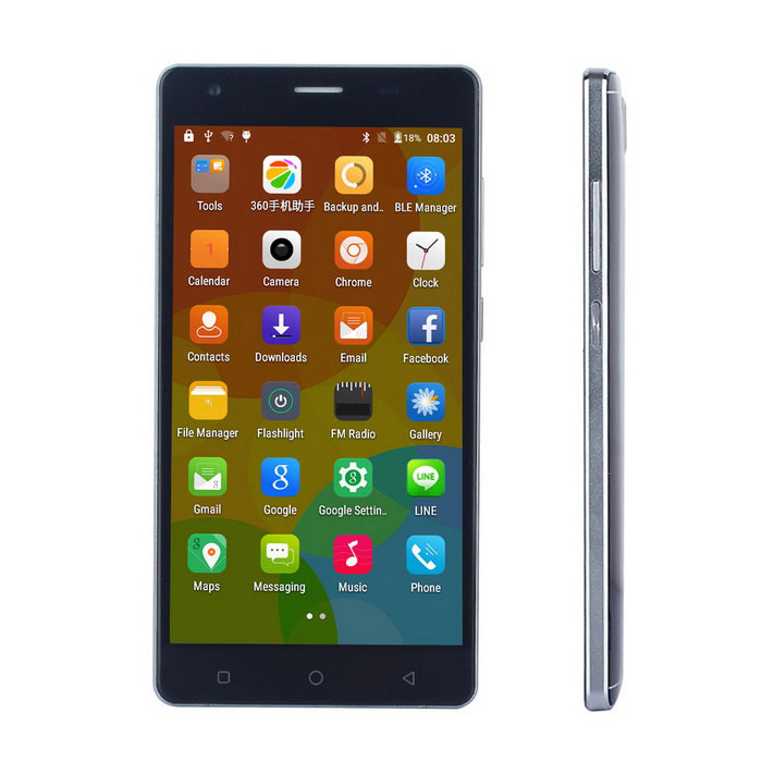 "Mate S Android 5.0 Smartphone w/ 5.0"" Screen, 1GB RAM, 8GB ROM - Black"