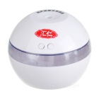USB Humidifier Aroma Oil Diffuser Air Purifier LED Night Light - White