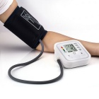 B02 Automatic Arm Blood Pressure Monitor w/ Voice Prompt - White