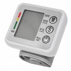 JZK-002 Wrist Style Automatic Electronic Blood Pressure Monitor -White