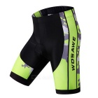WOSAWE Unisex Cycling Short Jersey Top + Pants Suit - Green (XXL)