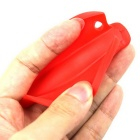 Silicone Fish Shape Shopping Bag Carrier Holder Handgreep - Rood