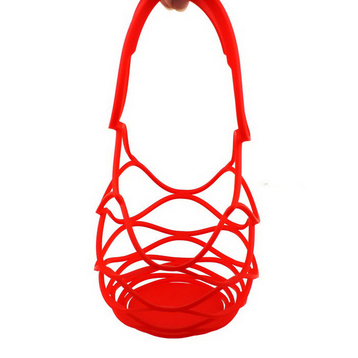 Multifunctional Silicone Hand Basket Insulation Mat Pad - Red