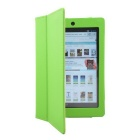 Hand Support Protective PU Leather Case w/  for Kobo Arc 7 HD - Green