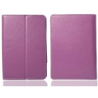 Protective PU Leather Case for Pocketbook Touch 624 / 640 - Purple