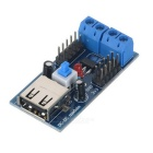 TS-35 USB Power Supply Voltage Regulator Module - Blue