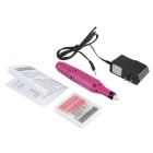 Electric Nail Drill Pen manikyyri Art Puolalainen Machine - Pink