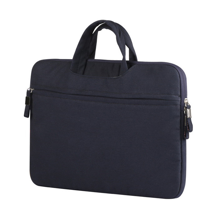 "Canvas Inner Sleeve Laptop Bag for MacBook Air/Pro 13"" - Navy Blue"