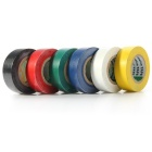 0.19mm*18mm*10dys PVC Insulating Tape (6 Colors)
