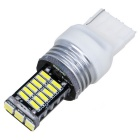 T20 15W 30*4014 SMD LED 450lm Cold White Backup Lights (2PCS)