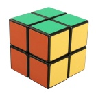 ShengShou 2*2*2 Black Background Frosted IQ Cube - Black + Multi-Color
