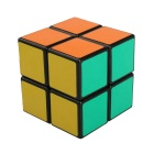 ShengShou 2*2*2 Black Background Smooth IQ Cube - Black + Multi-Color