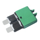 IZTOSS F446 Car Resettable 30A Circuit Breaker Blade Fuse - Green