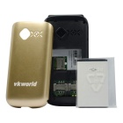 "vkworld diamant Z2 2.4 ""Téléphone w / 64MB RAM, 64MB ROM, 0.3MP - Golden"
