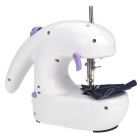 Mini Electric Sewing Machine - White