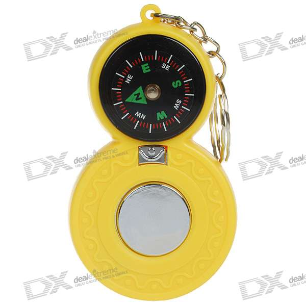 Shock-Your-Friend Shocking Compass with LED Light (Practical Joke)