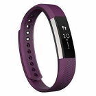 Fitbit Alta Fitness Tracker, Plum, Large