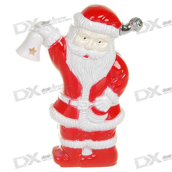 Shock-Your-Friend Shocking Santa Claus Dummy Lighter with LED Light (Practical Joke)