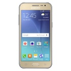 "Samsung Galaxy J2 SM-J200H/DS DUOS 4.7"" Super AMOLED Display - Gold"