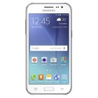 "Samsung Galaxy J2 SM-J200H/DS DUOS 4.7"" Super AMOLED Display - White"