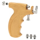 Stainless Steel Safe Ear Nose Navel Piercing Gun Tool Set - Yellow