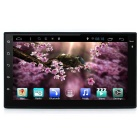 "7"" 2 Din HD 1080P Quad-Core Android Car DVD / GPS - Black + Iron Grey"