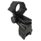 25.4mm Dia Adjustable Gun Scope Mount for 20mm Weaver Rail - Black