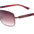 SENLAN 1803C3 Men's UV400 Protection Sunglasses - Coffee + Tawny