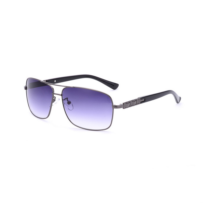 SENLAN 1803C4 Men's UV400 Protection Sunglasses - Gun Color + Blue