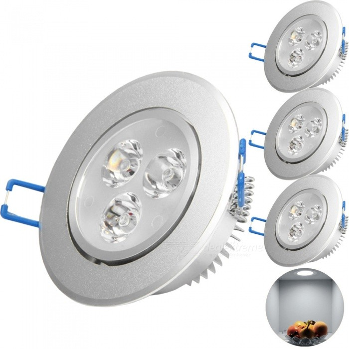 YouOKLight 3W 280lm 3-LED Cool White Downlight Ceiling Lamp Spotlight