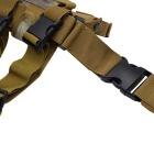 Outdoor Military War Game Pistol Gun Leg Thigh Holster - Camouflage